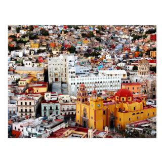 Collection de couleur cartes postales