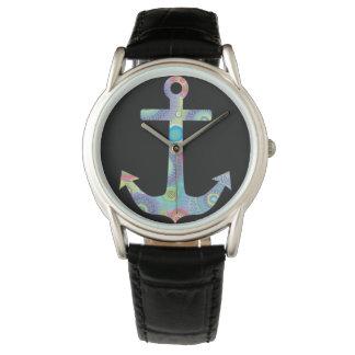 Collection de Hayden, cru, cuir, la montre des