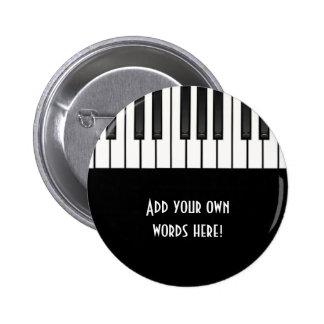 Collection de mélodie badge rond 5 cm