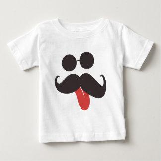 Collection de moustache t-shirt pour bébé
