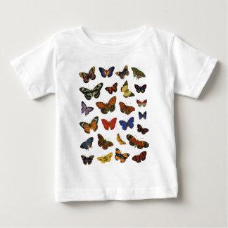 Collection de papillon t-shirt pour bébé
