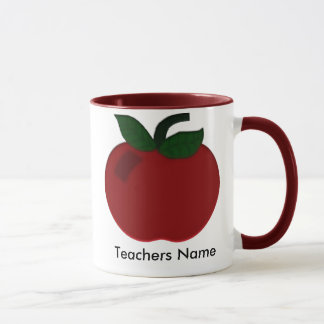 Collection de professeur d'Apple Tasses