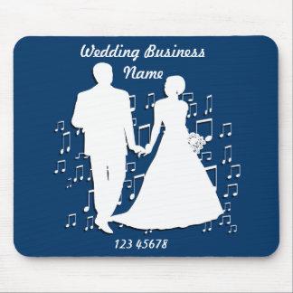 Collection de thème d affaires de wedding planner tapis de souris