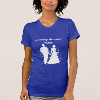 Collection de thème d'affaires de wedding planner t-shirts