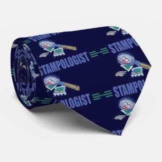 Collection de timbres humoristique cravates