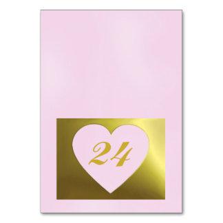 Collection d'or rose de la carte | de Tableau de m
