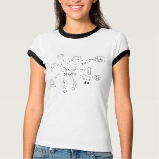 "Collection ""Fun et humour"" t-shirt média mc"