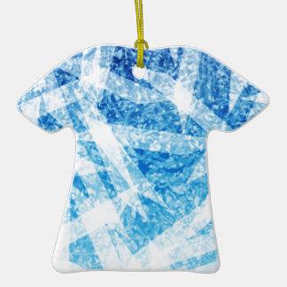 Collection gelée ornement t-shirt en céramique