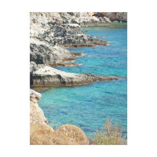 collection marine. La Grèce. Kefalonia Toiles