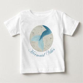 Collection peinte de sirène t-shirt pour bébé