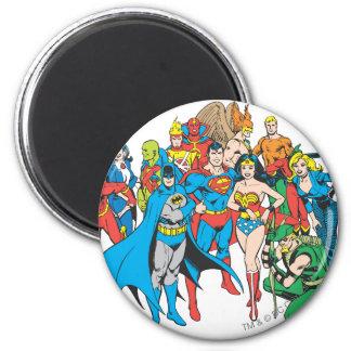 Collection superbe 2 de Powers™ Magnet Rond 8 Cm
