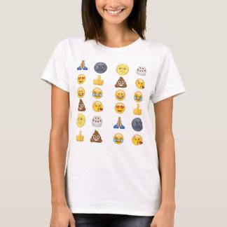 Collection supérieure d'emoji t-shirt