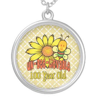Collier 100th anniversaire - incroyable à 100 années
