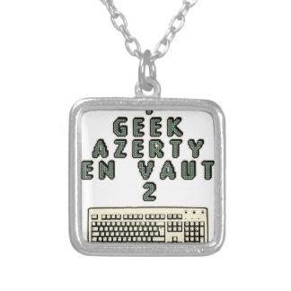 Collier 1 GEEK AZERY en vaut 2 - Jeux de motsT