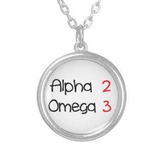 Collier alpha omega