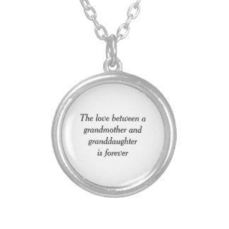 Collier Amour de grand-mère et de petite-fille