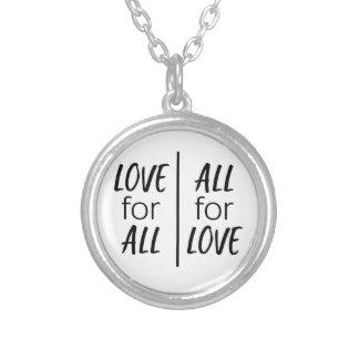 Collier Amour pour tous, tous pour l'amour