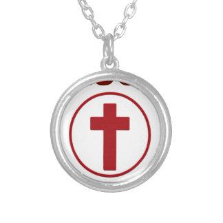 Collier Amours de Jésus, religion Cross.pn de