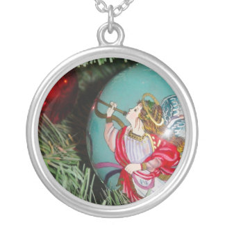 Collier Ange de Noël - art de Noël - décorations d'ange