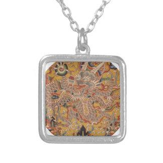 Collier Art chinois asiatique impérial de dragon de Ming