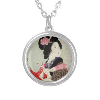 Collier Art japonais de Madame Suzuki Kason Sakura Japon