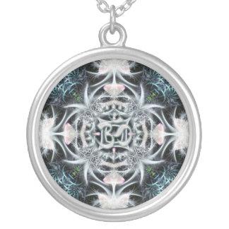 Collier Art magique de fractale d'Aum