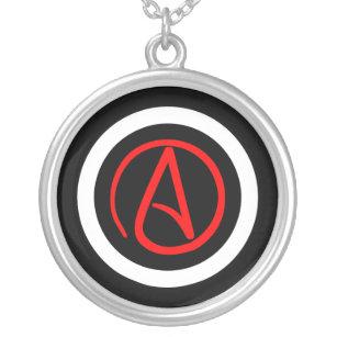 Collier athée de logo