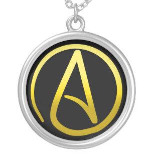 Collier athée de symbole