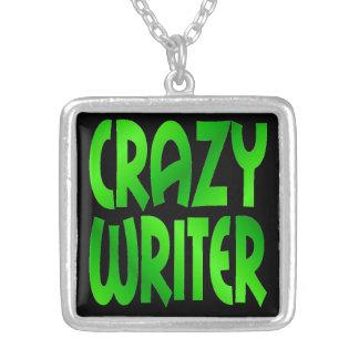Collier Auteur fol en vert
