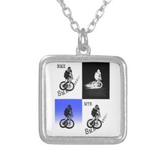 Collier Autocollants de CYCLISTE du cycliste MTB BMX de