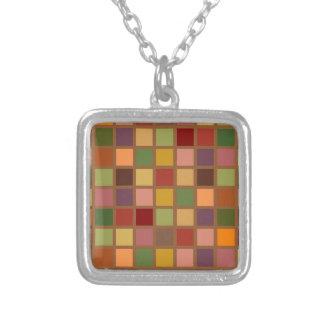 Collier Automne carré