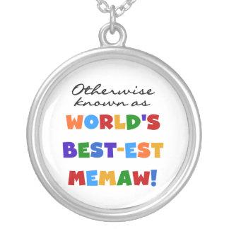 Collier Autrement connu comme Meilleur-est Memaw du monde