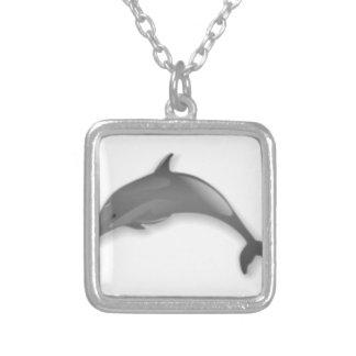 Collier Bande dessinée de dauphin