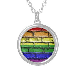 Collier Bannière LGBT gai de drapeau