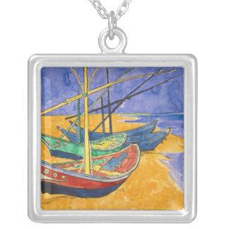 Collier Bateaux de pêche de Vincent van Gogh | sur la
