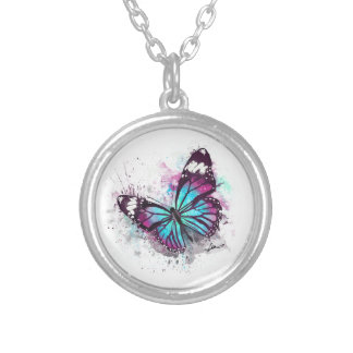 Collier Belle illustration de papillon
