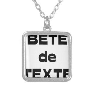 Collier Bête de Texte - Jeux de Mots - Francois Ville