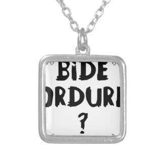 Collier BIDE ORDURE ? - Jeux de Mots - Francois Ville