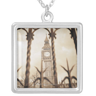 Collier Big Ben au Parlement, Londres