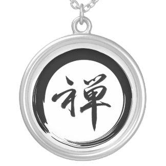 Collier Bijoux de symbole de zen