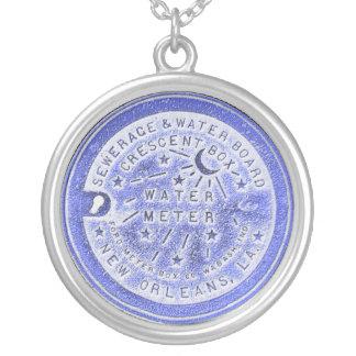 Collier Bleu de mètre d'eau de la Nouvelle-Orléans
