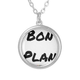 Collier BON PLAN - Jeux de mots - Francois Ville