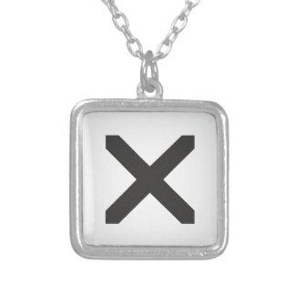 Collier Bord droit X