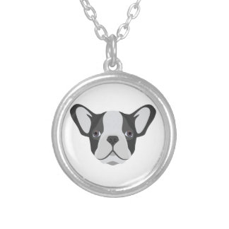 Collier Bouledogue français mignon d'illustration