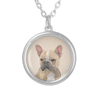 Collier Bouledogue français (sable)