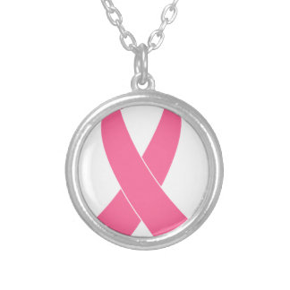 Collier breast-cancer-ribbon