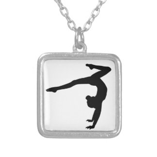 Collier Cadeaux d'appui renversé de mâle de gymnaste