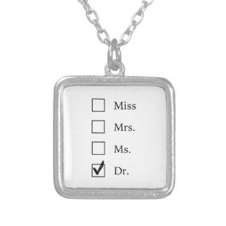Collier Cadeaux de PhD pour des femmes