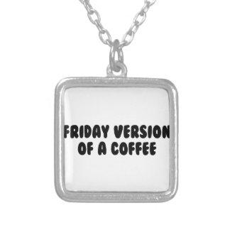 Collier Café de vendredi