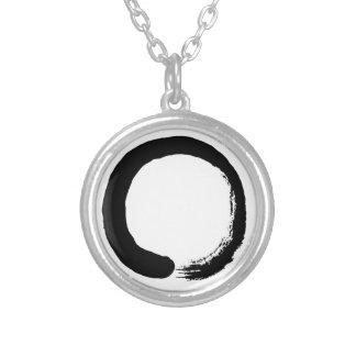 Collier Calligraphie de zen de cercle d'Enso